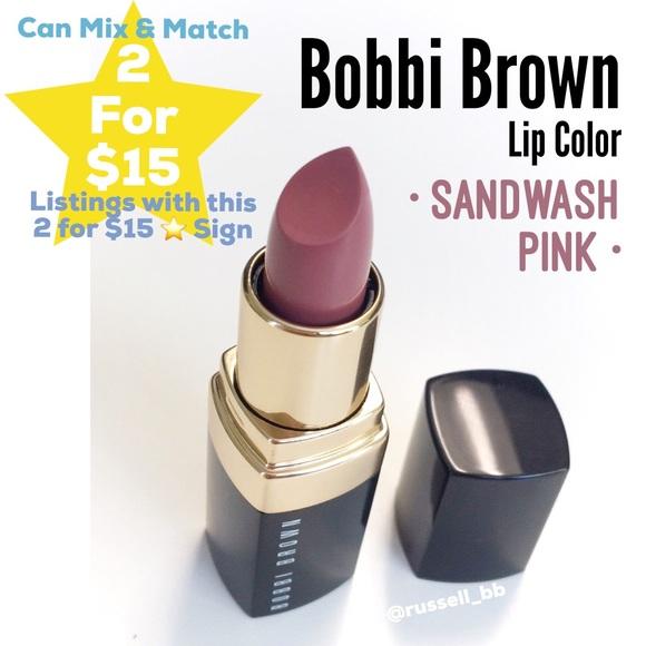 Bobbi Brown Makeup Lip Color Sandwash Pink Poshmark